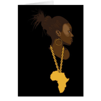 Mother Africa Card