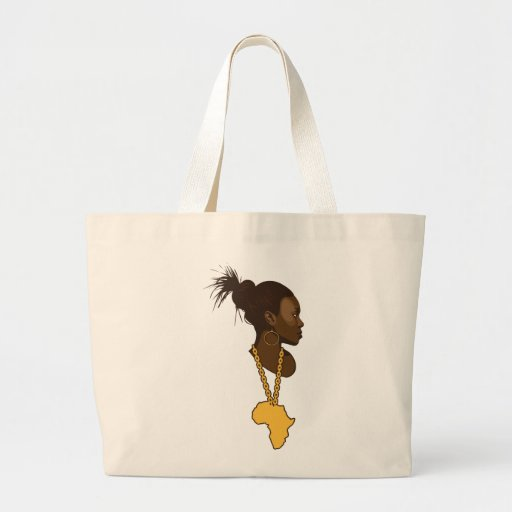 Mother Africa Jumbo Tote Bag