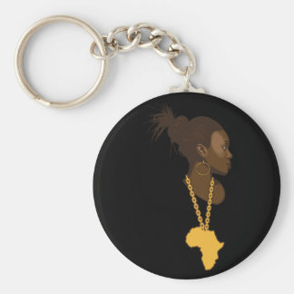 Mother Africa Keychain