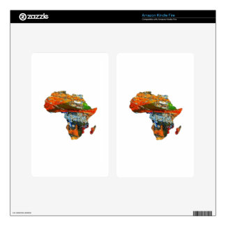 Mother Africa Kindle Fire Decal