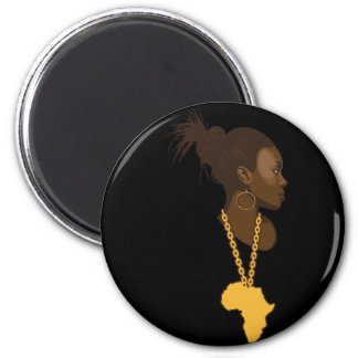 Mother Africa Fridge Magnet