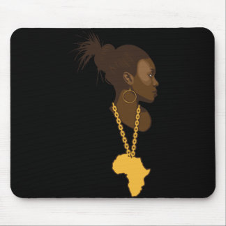 Mother Africa Mouse Pad