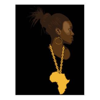 Mother Africa Postcard