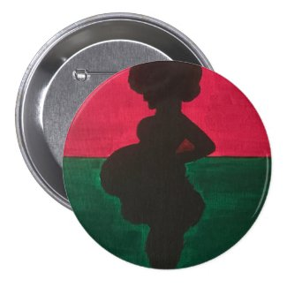Mother Afrika Large Button