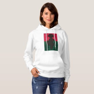 Mother Afrika Pull over Hoodie