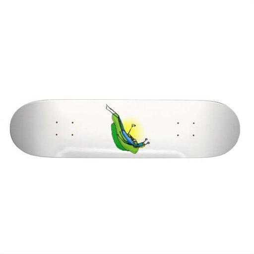 Mother Alien lounging Skate Decks