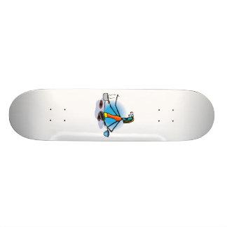Mother Alien making dinner Custom Skate Board