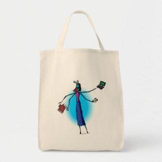Mother Alien Working Hard Bags