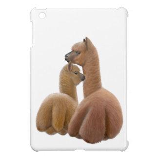 Mother Alpaca and Cria iPad Mini Case