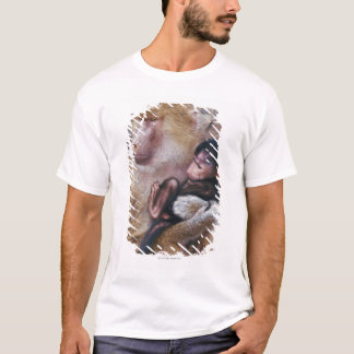 Mother and Baby Baboon T-Shirt