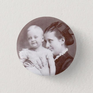 Mother and Baby Button