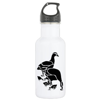 Mother and Baby Ducks Stainless Steel Water Bottle
