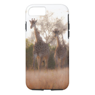 Mother and Baby Giraffe iPhone 8/7 Case