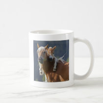 Mother and Baby Horse Coffee Mug