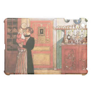 Mother and Baby in the Kitchen iPad Mini Case