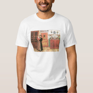 Mother and Baby in the Kitchen T-shirt