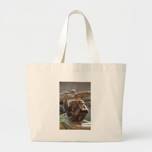 Mother and Baby Jumbo Tote Bag