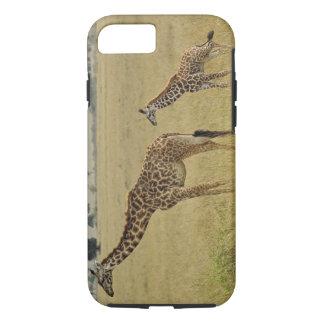 Mother and baby Masai Giraffe, Giraffa 2 iPhone 8/7 Case