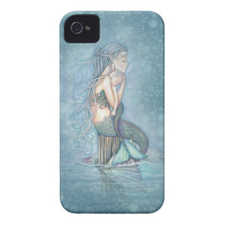 Mother and Baby Mermaid Fantasy Art iPhone Case iPhone 4 Covers