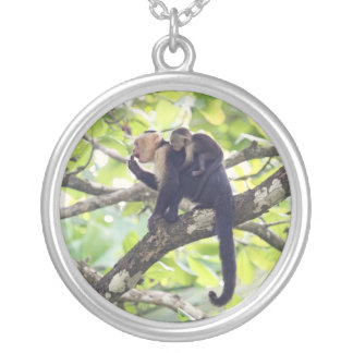 Mother and Baby Monkey Necklaces