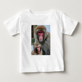 Mother and Baby Monkey Tee Shirt