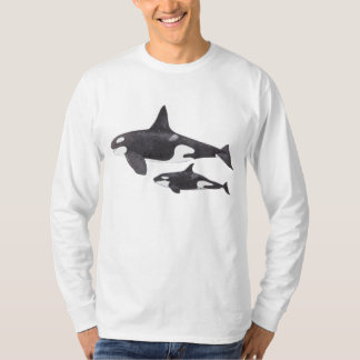 Mother and Baby Orca T-Shirt