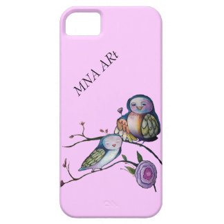 Mother and baby owl iPhone SE/5/5s case