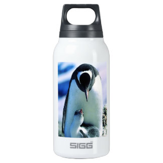 Mother And Baby Penguin Insulated Water Bottle