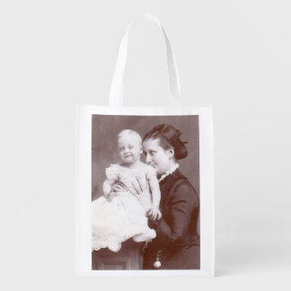 Mother and Baby Reusable Grocery Bag