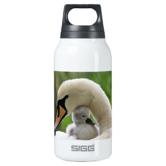 Mother And Baby Swan Insulated Water Bottle