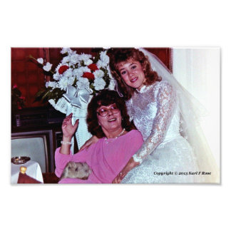 Mother and Bride 10 x 8 photo print