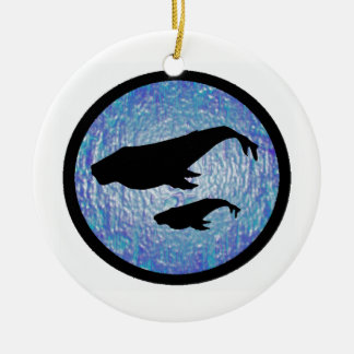 MOTHER AND CALF CHRISTMAS TREE ORNAMENTS