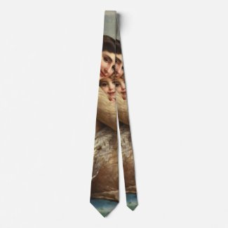 Mother and Child 1885 Neck Tie