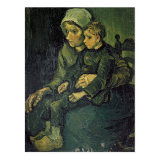 Mother and Child, 1885 Postcard
