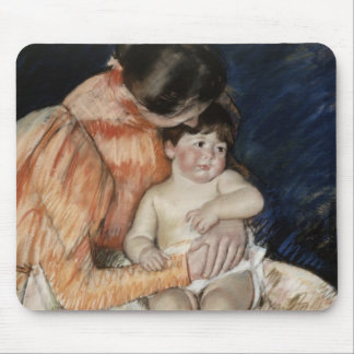 Mother and Child, 1890s Mouse Pad