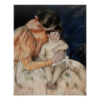 Mother and Child, 1890s Poster