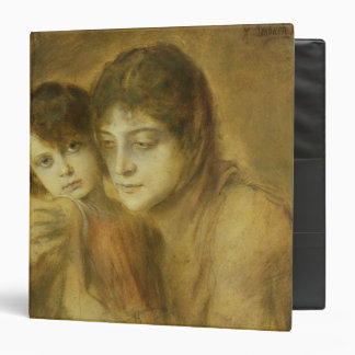 Mother and Child, 1893 3 Ring Binder