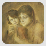 Mother and Child, 1893 Sticker