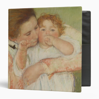 Mother and Child, 1897 3 Ring Binder