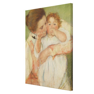 Mother and Child, 1897 Stretched Canvas Print