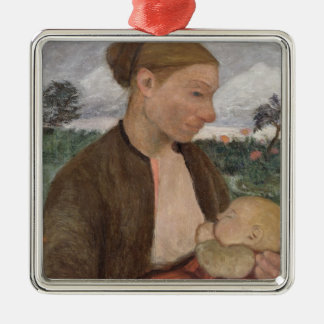 Mother and Child, 1903 Metal Ornament
