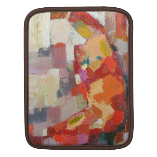 Mother and Child Abstract Art iPad Sleeve