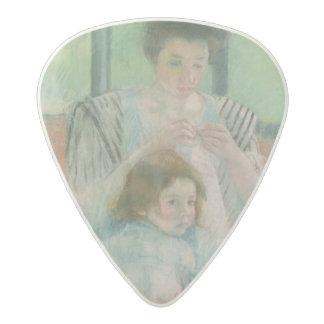 Mother and child acetal guitar pick