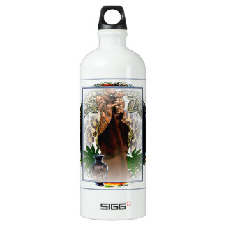 Mother And Child Aluminum Water Bottle