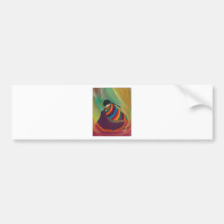 Mother and Child Car Bumper Sticker