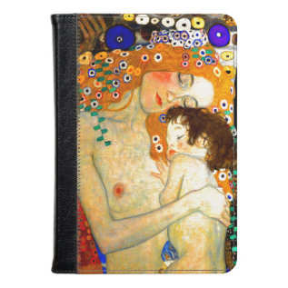 Mother and Child by Gustav Klimt Art Nouveau at Zazzle