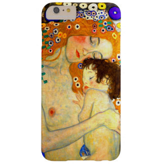 Mother and Child by Gustav Klimt Art Nouveau Barely There iPhone 6 Plus Case