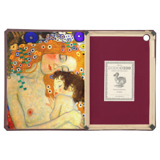 Mother and Child by Gustav Klimt Art Nouveau Cover For iPad Air