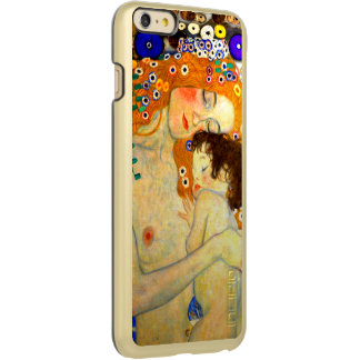 Mother and Child by Gustav Klimt Art Nouveau Incipio Feather Shine iPhone 6 Plus Case