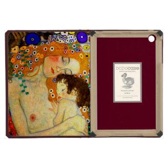 Mother and Child by Gustav Klimt Art Nouveau iPad Mini Retina Cover
